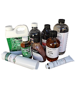 Oil Mediums, Solvents and Varnish